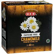 H-E-B Premium Chamomile Caffeine Free Herbal Tea Bags