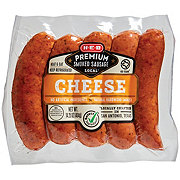 H-E-B Premium Cheese Smoked Sausage Links