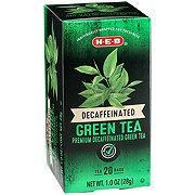 H-E-B Premium Decaf Green Tea Bags