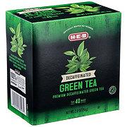 H-E-B Premium Decaffeinated Green Tea Bags