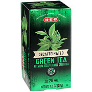 H-E-B Premium Decaffeinated Tea Bags, Green