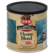 H-E-B Premium House Blend Med-Dark Ground Coffee