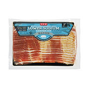 H-E-B Premium Lower Sodium Bacon
