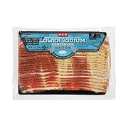 H-E-B Premium Lower Sodium Bacon
