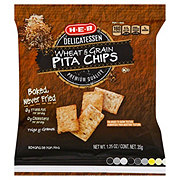 H-E-B Premium Quality Multigrain Baked Pita Chips