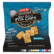 H-E-B Premium Quality Sea Salt Baked Pita Chips