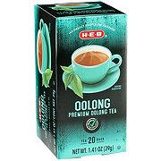 H-E-B Premium Tea Bags, Oolong