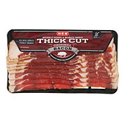H-E-B Premium Thick Cut Smoked Bacon