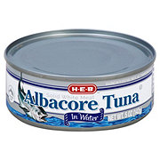 H-E-B Premium White Meat Albacore Tuna in Water Can