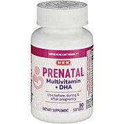 H-E-B Prenatal Multi +DHA One Daily Softgels