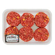 H-E-B Prime 1 Beef Bacon-Cheddar Sliders