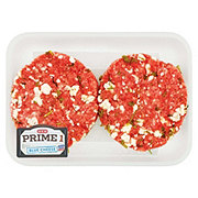 H-E-B Prime 1 Beef Blue Cheese Burger, 2 ct