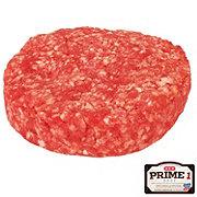 H-E-B Prime 1 Beef Brisket Steak Burger, Service Case