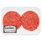 H-E-B Prime 1 Beef Brisket Steak Burgers, 2 ct