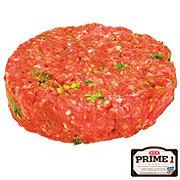 H-E-B Prime 1 Beef Cowboy Burger, Service Case