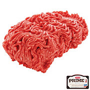 H-E-B Prime 1 Beef Ground Chuck 80% Lean, Service Case