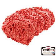 H-E-B Prime 1 Beef Ground Chuck 80% Lean, Service Case