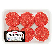 H-E-B Prime 1 Beef Ground Chuck Slider 80% Lean