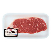 H-E-B Prime 1 Beef New York Strip Steak Boneless
