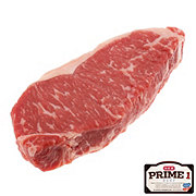 H-E-B Prime 1 Beef New York Strip Steak Boneless USDA Prime