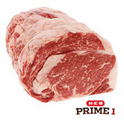 H-E-B Prime 1 Beef Ribeye Roast Large End Boneless USDA Prime