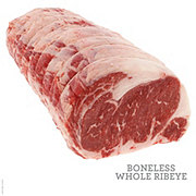H-E-B Prime 1 Beef Ribeye Roast Whole Boneless USDA Prime