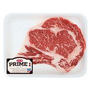 H-E-B Prime 1 Beef Ribeye Steak Bone-In