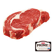 H-E-B Prime 1 Beef Ribeye Steak Boneless Thick USDA Prime