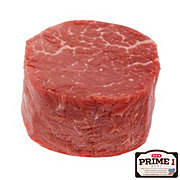 H-E-B Prime 1 Beef Tenderloin Steak Center Cut Special Trim USDA Prime