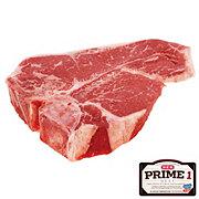 H-E-B Prime 1 T-Bone Steak, USDA Prime