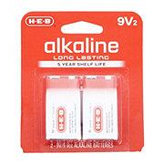 H-E-B Pro+ Alkaline 9V Batteries