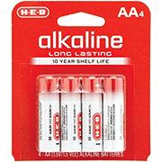 H-E-B Pro+ Alkaline AA Batteries