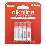 H-E-B Pro+ Alkaline AAA Batteries