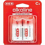 H-E-B Pro+ Alkaline C Batteries