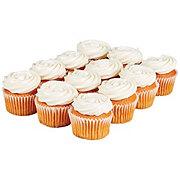 H-E-B Pumpkin Cupcakes with Cream Cheese Icing