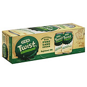 H-E-B Pure Cane Sugar Twist Soda 12 PK Cans