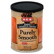 H-E-B Purely Smooth Medium Roast Ground Coffee