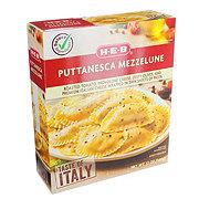 H-E-B Puttanesca Mezzelune