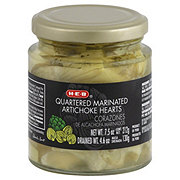 H-E-B Quartered Marinated Artichoke Hearts