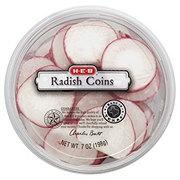 H-E-B Radish Coins