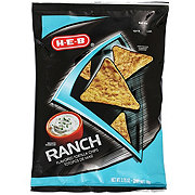 H-E-B Ranch Flavored Tortilla Chips