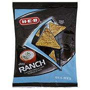 H-E-B Ranch Flavored Tortilla Chips