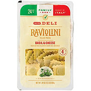 H-E-B Raviolini Filled Pasta with Basil and Cheese, Family Size