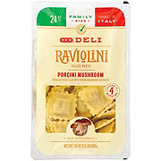 H-E-B Raviolini Filled Pasta with Porcini Mushrooms, Family Size