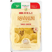H-E-B Raviolini Filled Pasta with Three Cheese, Family Size