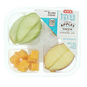 H-E-B Ready Fresh Go! Apples with Cheese and Caramel Dip