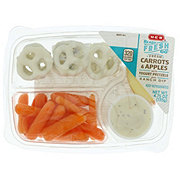 H-E-B Ready, Fresh, Go! Carrots and Apples Snack Tray