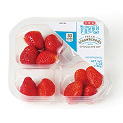 H-E-B Ready, Fresh, Go! Strawberries with Chocolate Dip Snack Tray