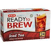 H-E-B Ready to Brew Black Tea Gallon Tea Bags