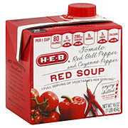H-E-B Red Cold Soup